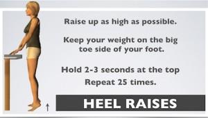 heel raises