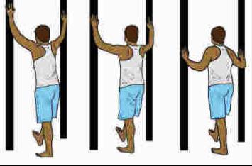 shoulder stretchesdoor external rotation stretch